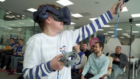 Хакатон VR в Кванториуме